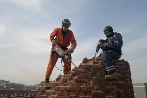 ремонт дымовых труб в Москве