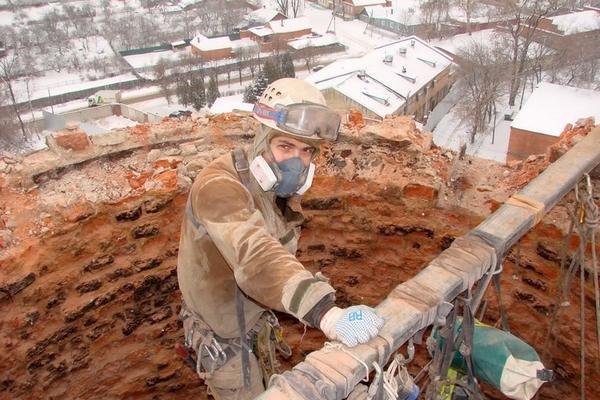 проведение ремонта дымовых труб