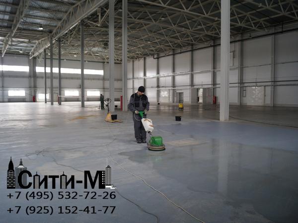 услуги по уборке производственных помещений