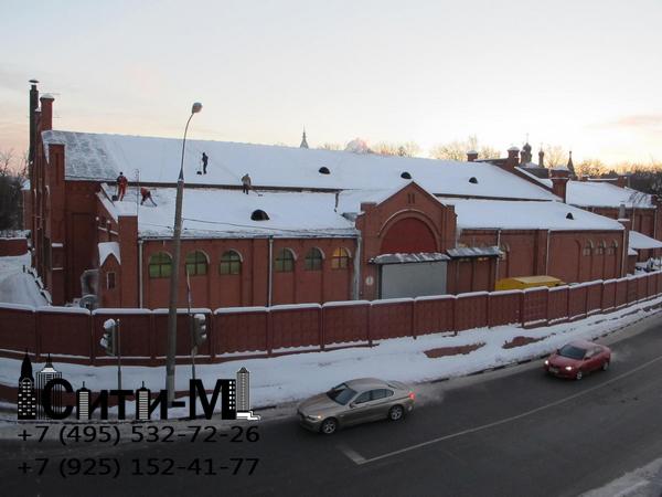 чистка крыш Москва