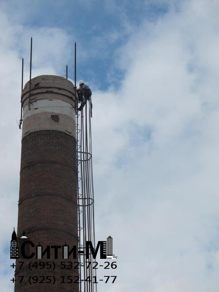 ремонт газоходов дымовых труб