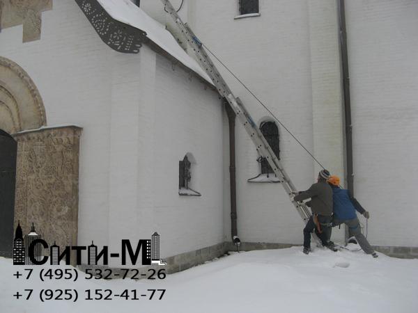 услуги по чистке снега