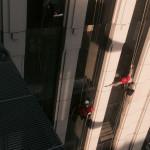 мытье фасадов и окон бизнес-центра