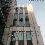 мойка фасадов и окон после строительства
