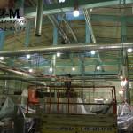 чистка цеха на заводе