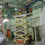 уборка производственных помещений на заводе Велхим