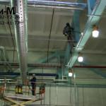 мойка производственных помещений на заводе Велхим
