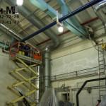 чистка производственных помещений на заводе Велхим