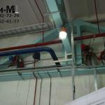обеспыливание цеха на заводе