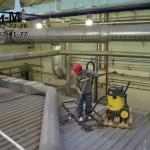 чистка промышленных помещений на заводе Велхим