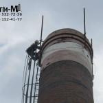 ремонт кирпича дымовой трубы